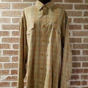Lucky Brand Mens Button Up Shirt
